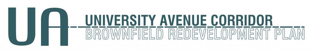 University Avenue Corridor Redevelopment Plan Logo