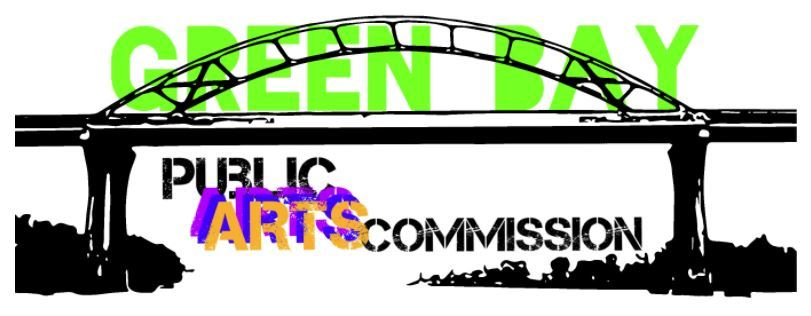 Green Bay Public Arts Commission Graphic Logo (Bridge Image)