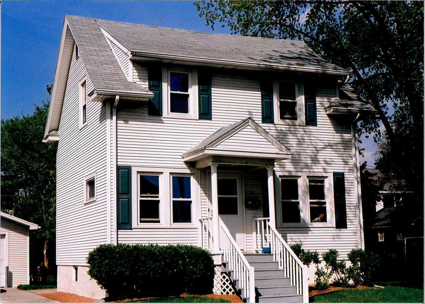 The house located at 836 Cora Street.