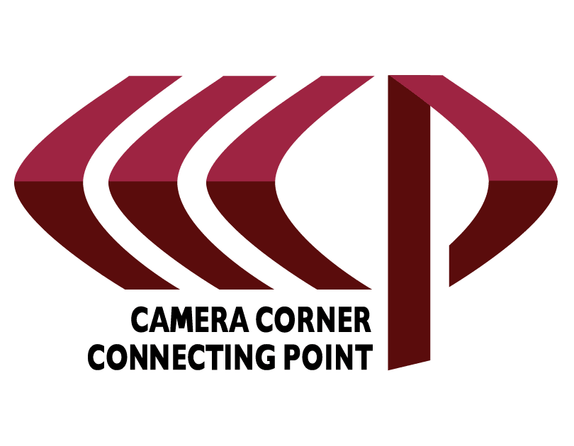 Camera Corner Connecting Point Logo
