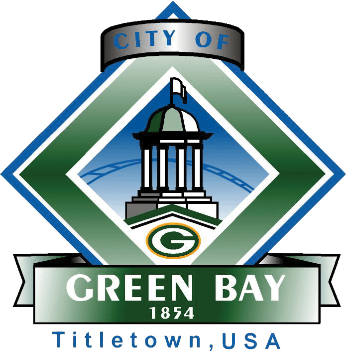 City of Green Bay - 1854 - Titletown, USA Logo