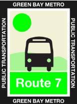 Route 7 Lime Icon