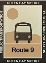 Route 9 Tan Icon