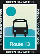 Route 13 River Icon