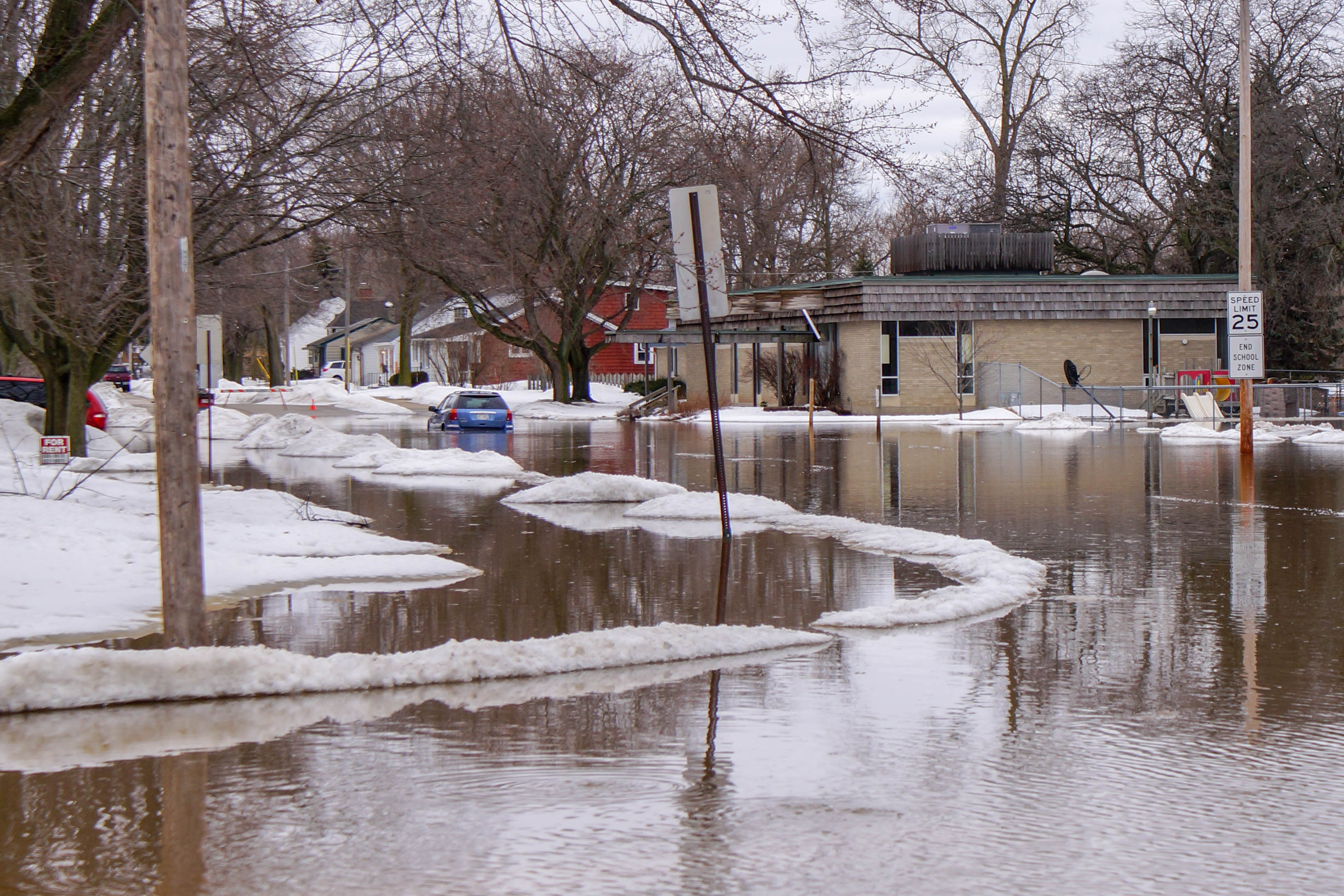 East River Flood in Green Bay