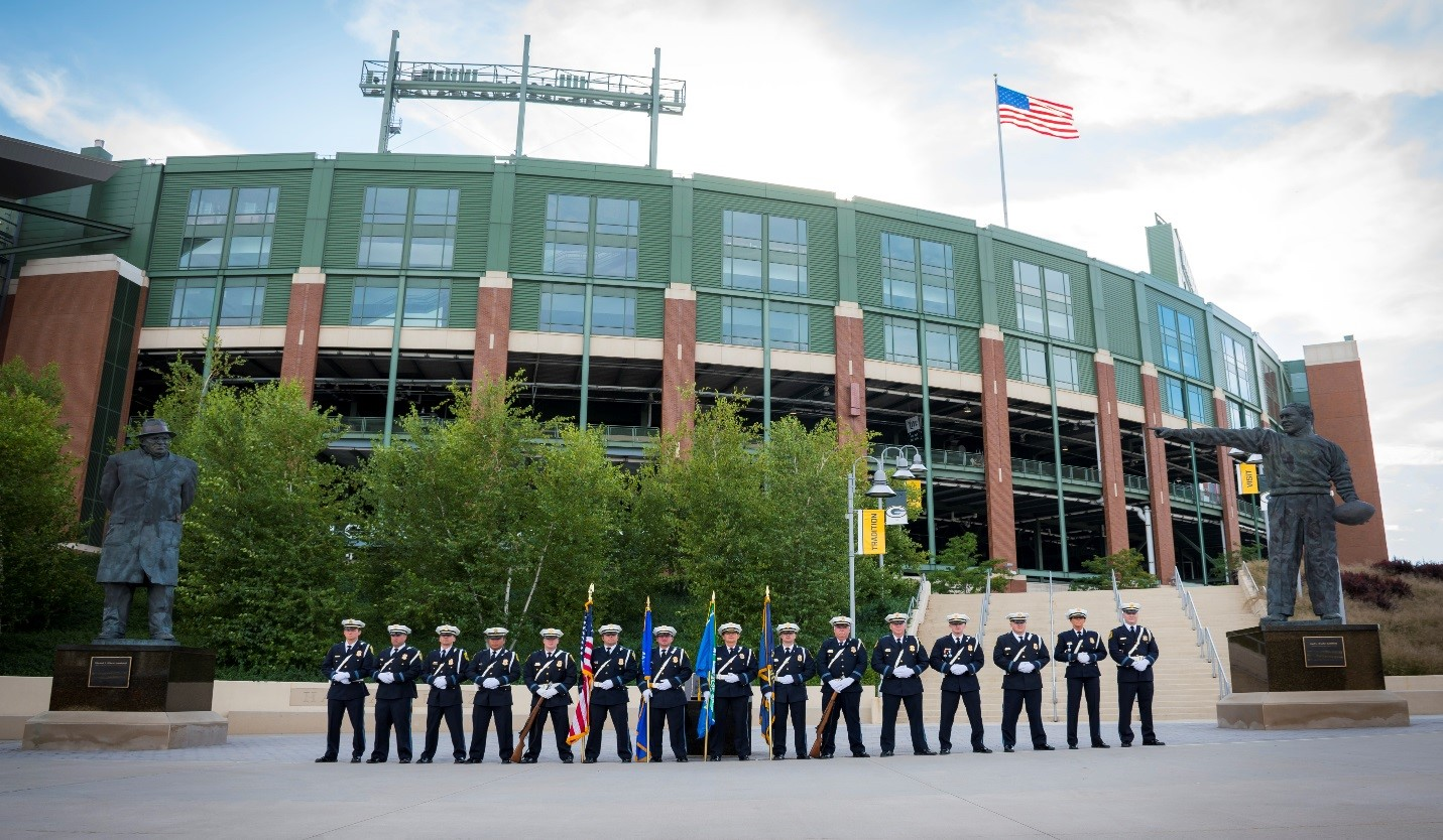 Green Bay Police Department Honor Guard